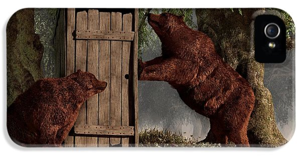Bears Around The Outhouse IPhone 5 Case