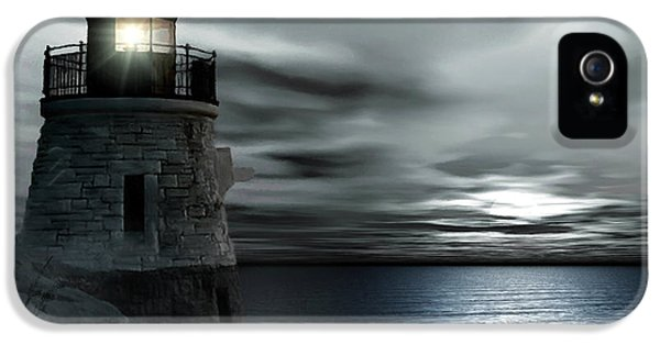 Beautiful Light In The Night IPhone 5 Case by Lourry Legarde
