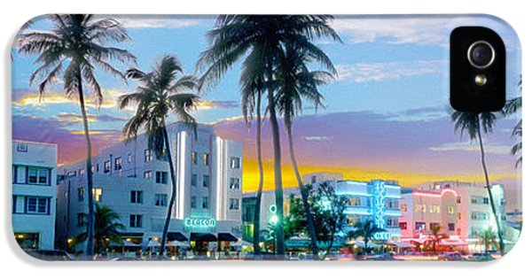 Beautiful South Beach IPhone 5 Case by Jon Neidert
