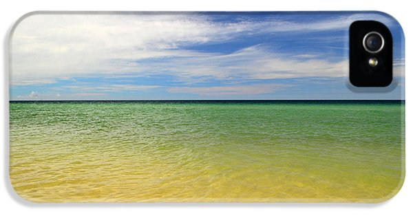 Beautiful St George Island Water IPhone 5 Case by Holden Parker