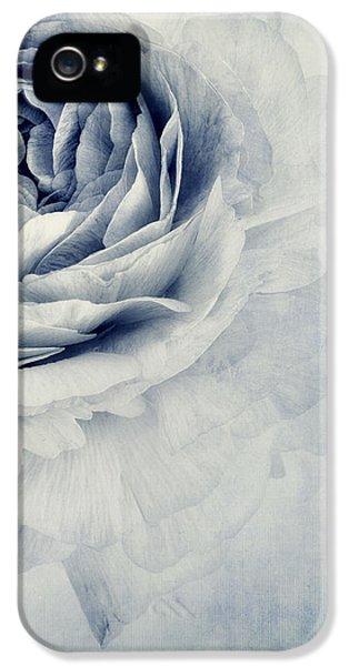 Beauty In Blue IPhone 5 Case by Priska Wettstein