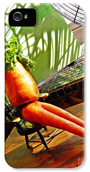 Beer Belly Carrot On A Hot Day IPhone 5 Case