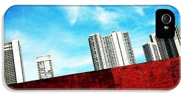 Iger iPhone 5 Case - Behind Miami's Glamorous Skyline by Joel Lopez