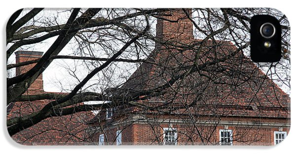 The British Ambassador's Residence Behind Trees IPhone 5 Case by Cora Wandel