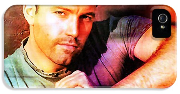 Ben Affleck IPhone 5 Case by Marvin Blaine
