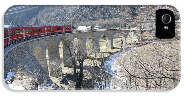 Bernina Express In Winter IPhone 5 Case