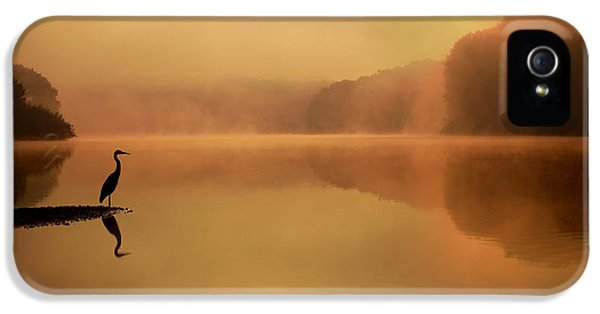 Beside Still Waters IPhone 5 Case by Rob Blair
