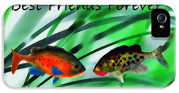 Best Friends Forever IPhone 5 / 5s Case by Terril Heilman