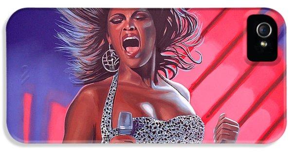 Beyonce IPhone 5 Case by Paul Meijering
