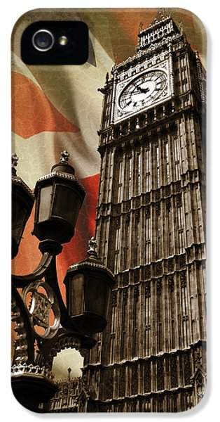 Big Ben London IPhone 5 Case by Mark Rogan