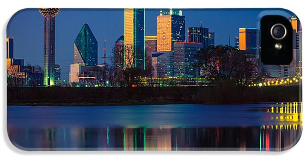 Big D Reflection IPhone 5 / 5s Case by Inge Johnsson