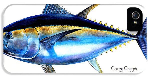 Big Eye Tuna IPhone 5 Case by Carey Chen