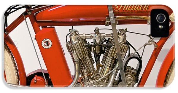 Bike - Motorcycle - Indian Motorcycle Engine IPhone 5 Case