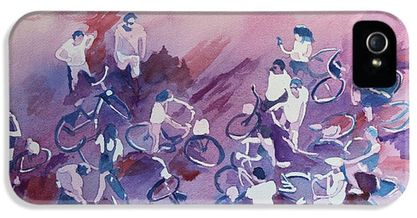 Bicycle iPhone 5 Case - Bike Tour by Jenny Armitage