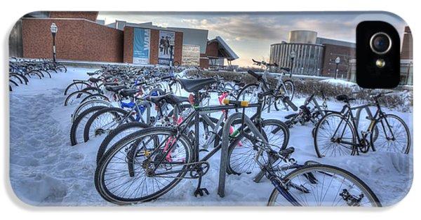 Bikes At University Of Minnesota  IPhone 5 Case