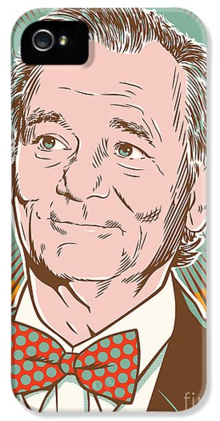 Bill Murray Pop Art IPhone 5 / 5s Case by Jim Zahniser