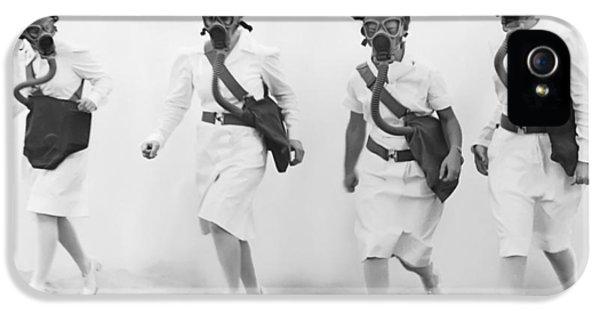 Breathe iPhone 5 Case - Bioweapon Attack by Daniel Hagerman