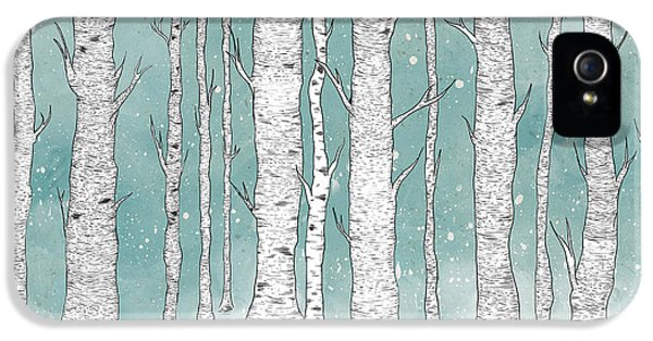 Birch Forest IPhone 5 Case