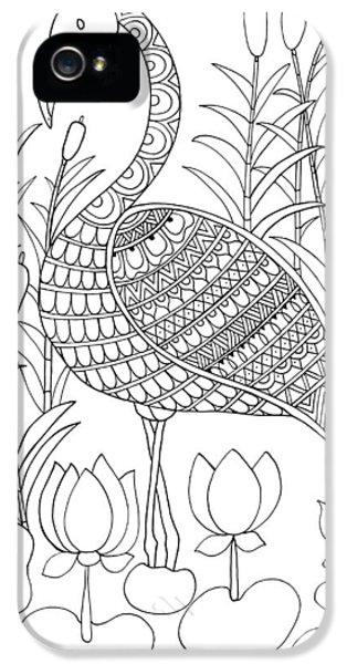 Bird Flamingo IPhone 5 Case