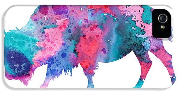 Bison 2 IPhone 5 / 5s Case by Luke and Slavi