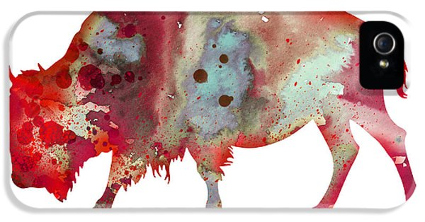 Bison IPhone 5 Case by Luke and Slavi