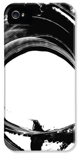 Abstract iPhone 5 Case - Black Magic 304 By Sharon Cummings by Sharon Cummings