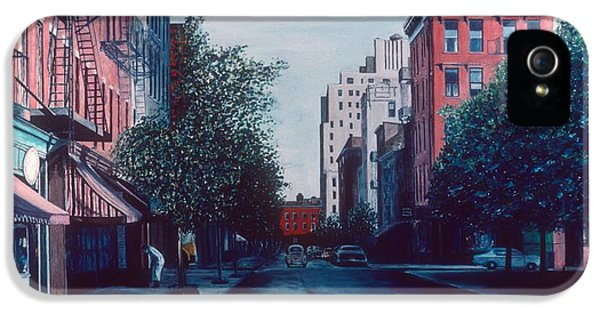 Bleeker Street IPhone 5 Case by Anthony Butera