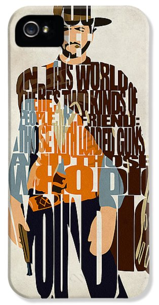 Blondie Poster From The Good The Bad And The Ugly IPhone 5 Case