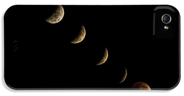 Blood Moon IPhone 5 / 5s Case by James Dean