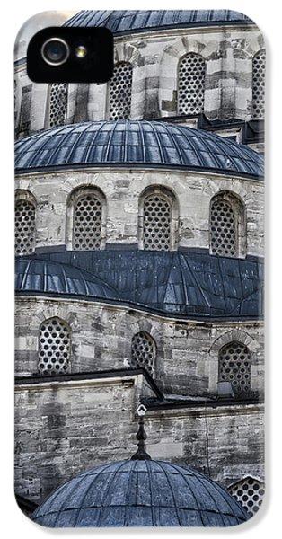Blue Dawn Blue Mosque IPhone 5 Case by Joan Carroll