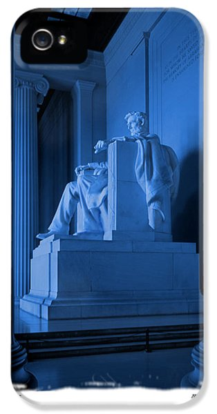 Blue Lincoln IPhone 5 Case by Mike McGlothlen