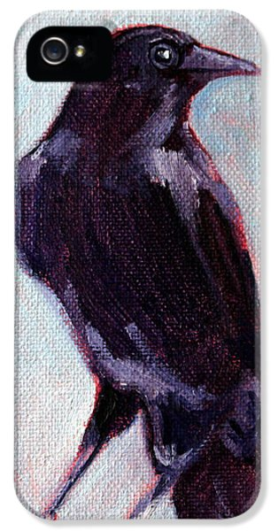 Blue Raven IPhone 5 Case