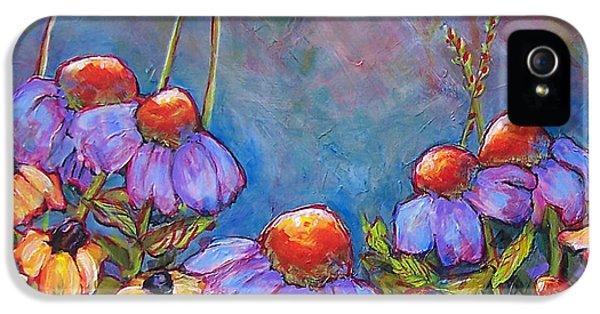 Blue Sky Flowers IPhone 5 Case