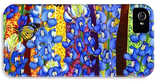 Bluebonnet Garden IPhone 5 Case