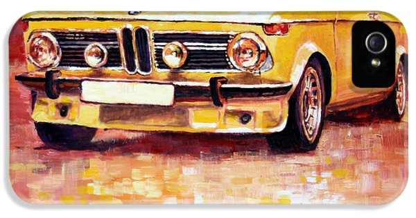 Bmw 2002 Turbo IPhone 5 Case by Yuriy Shevchuk