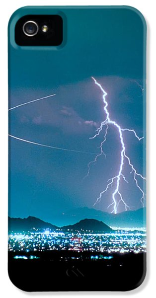 Bo Trek The Lightning Man IPhone 5 Case by James BO  Insogna