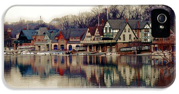 Boathouse Row Philadelphia IPhone 5 Case by Tom Gari Gallery-Three-Photography