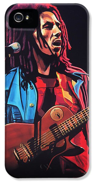 Bob Marley 2 IPhone 5 Case