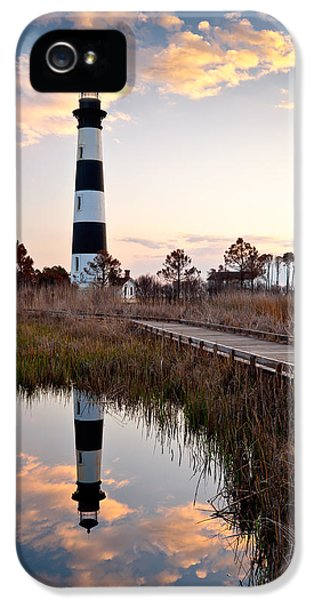 Bodie Island Lighthouse - Cape Hatteras Outer Banks Nc IPhone 5 Case by Dave Allen