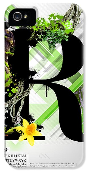 Bodoni R IPhone 5 Case