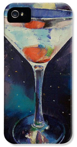 Bombay Sapphire Martini IPhone 5 / 5s Case by Michael Creese