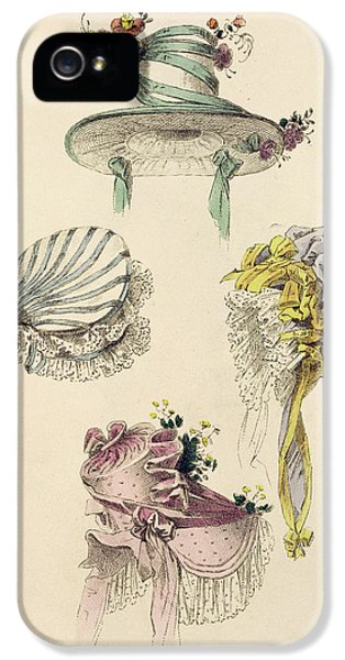 Bonnets For An Occasion, Fashion Plate IPhone 5 Case