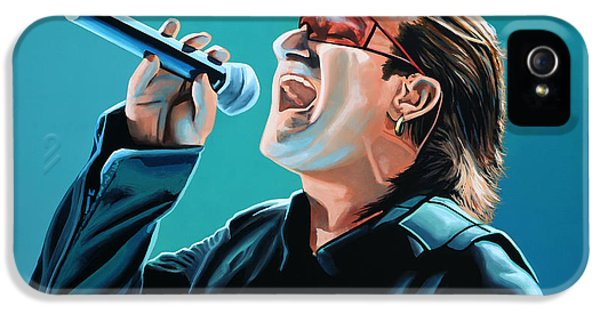 Bono Of U2 Painting IPhone 5 Case