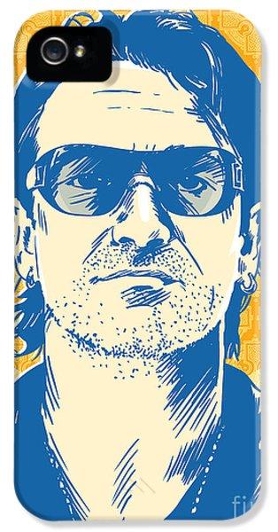 Bono Pop Art IPhone 5 / 5s Case by Jim Zahniser