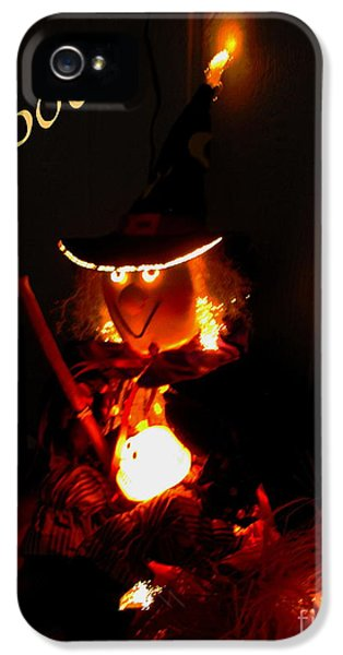 Boo  IPhone 5 Case by Marilyn Smith