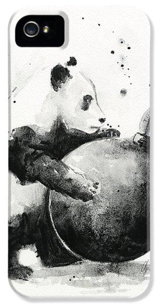 Boom Panda IPhone 5 Case by Olga Shvartsur