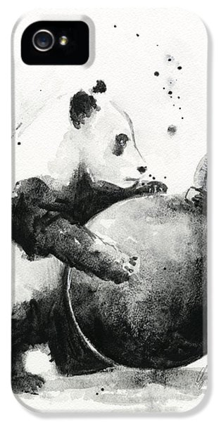 Boom Panda IPhone 5 / 5s Case by Olga Shvartsur