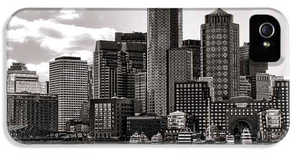 Boston IPhone 5 Case by Olivier Le Queinec