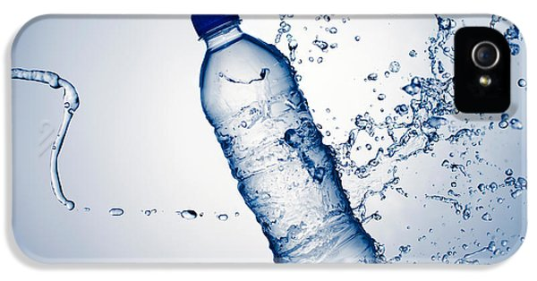 Bottle Water And Splash IPhone 5 Case