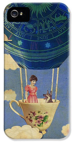 Bouncing Off Clouds IPhone 5 Case